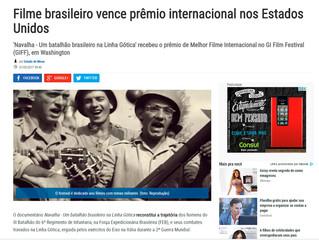 Filme brasileiro vence prêmio internacional nos Estados Unidos