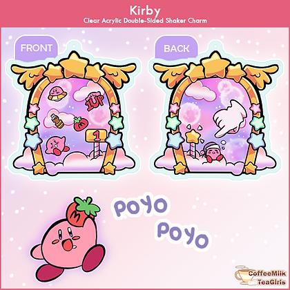 Kirby - Shaker Charm