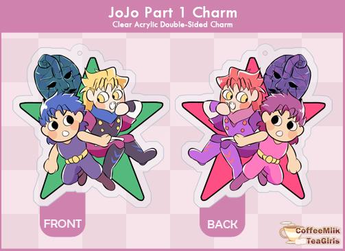 Jojo Phantom Blood - Charm