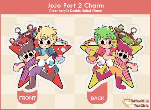Jojo Battle Tendency - Charm
