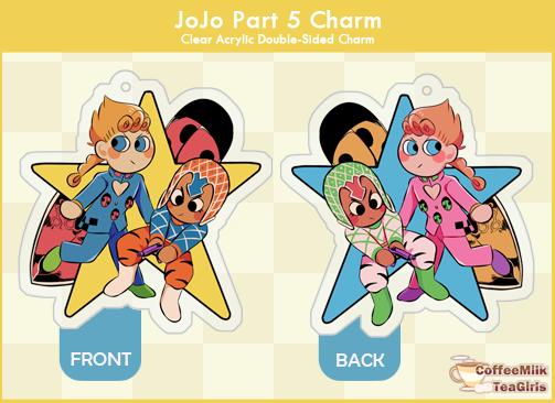 Jojo Vento Aureo - Charm