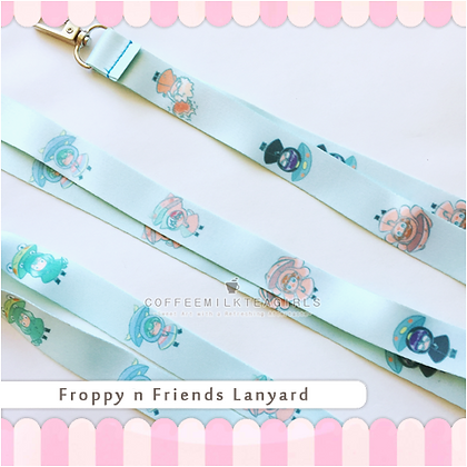 Froppy & Friends- Lanyard