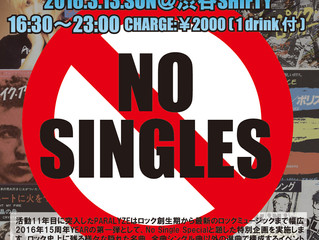 2016/3/13 -PARALYZE NO SINGLE SPECIAL-