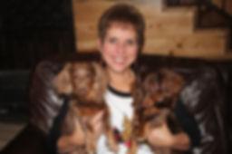 Tammy with boy dogs.jpg