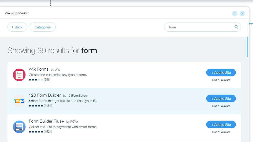 Wix Forms