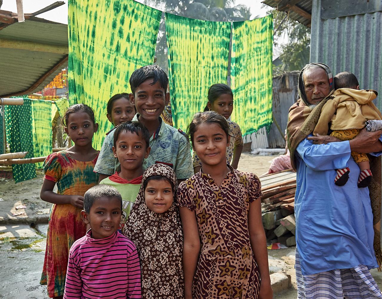 Textile village