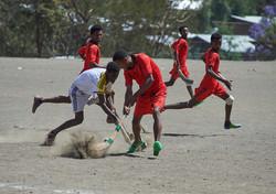 Hockey game, Lalibela