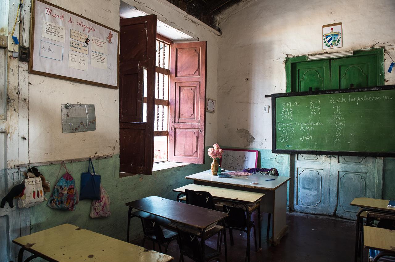 Primary school classroom, Trinidad