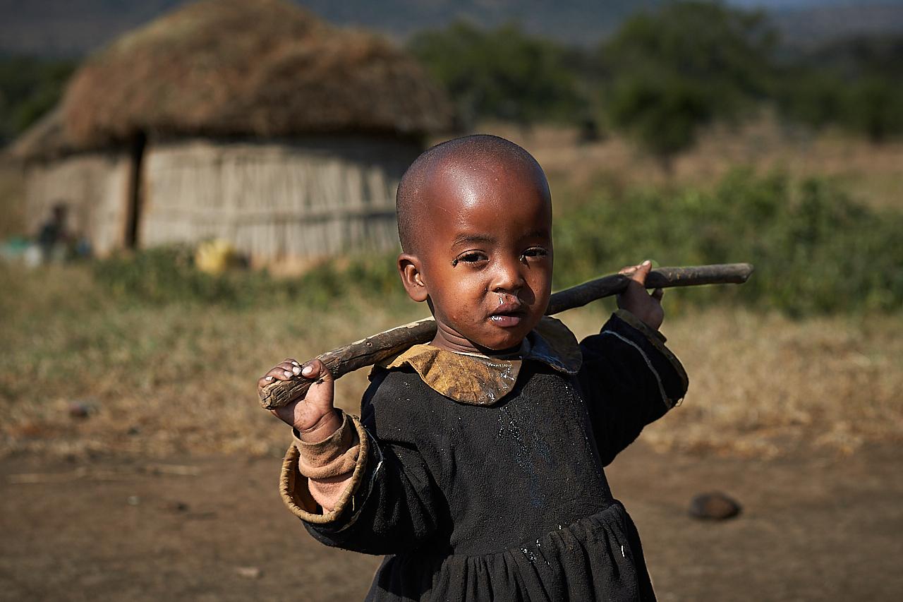 Maasai girl, Monduli Juu