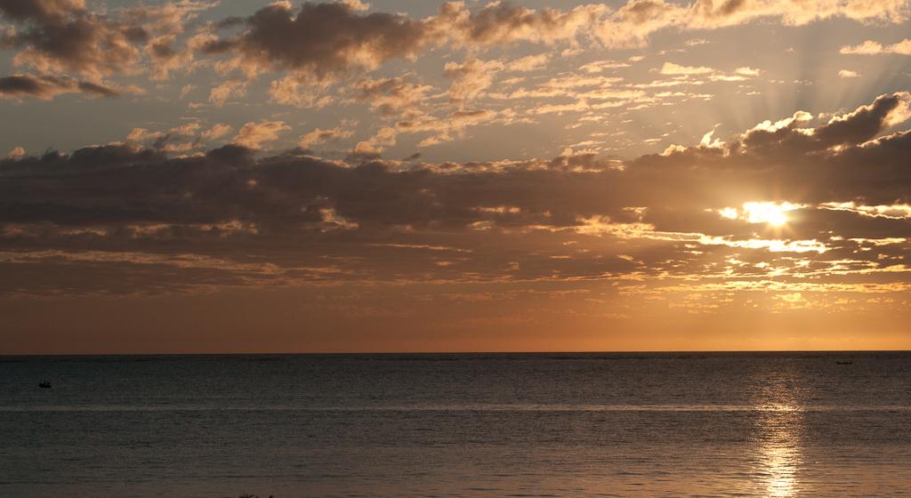 Sunrise, Jambiani beach
