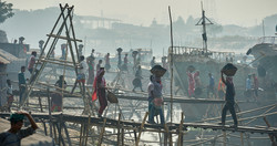 Coal carrying, Dhaka