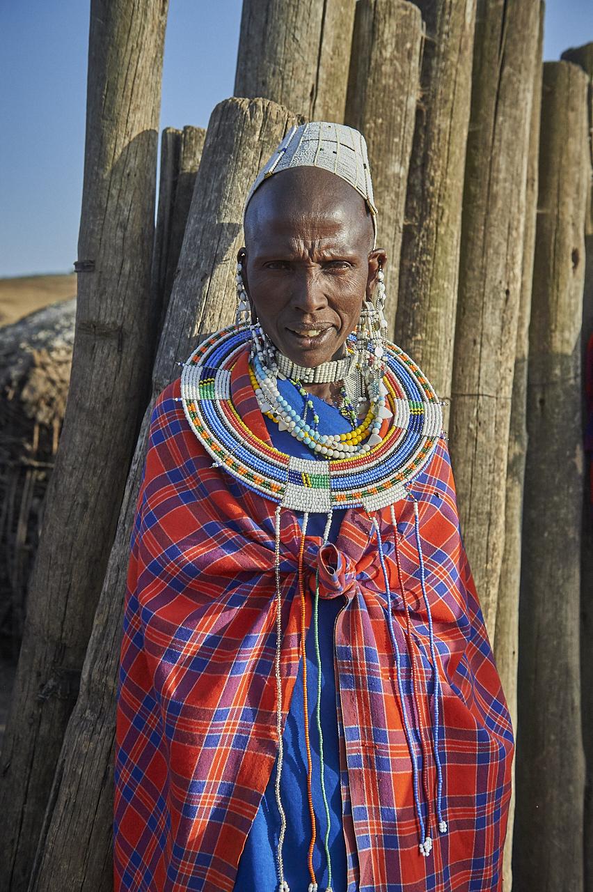 Masai man, Ngorongoro