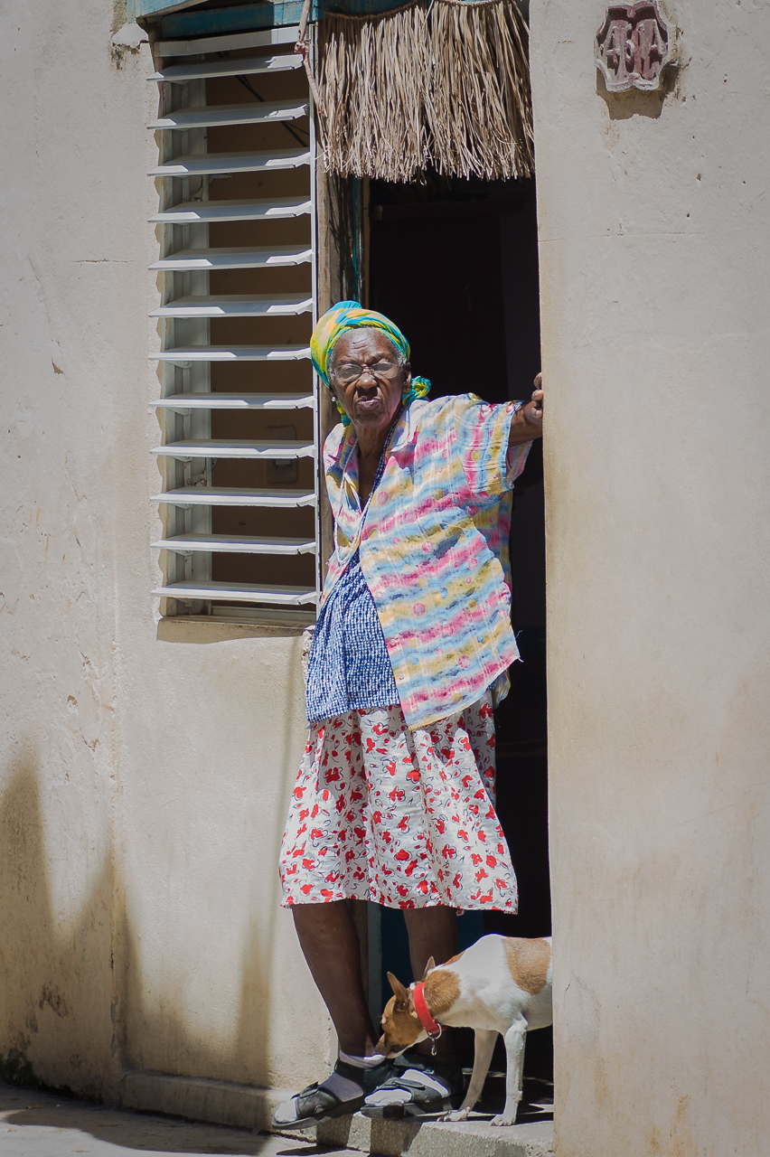 Old lady, Havana