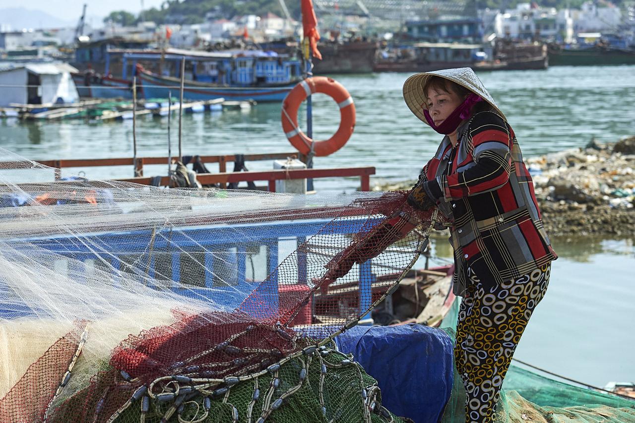 Fisherwoman, Nha Trang