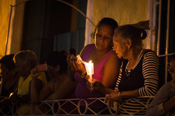 Semana Santa procession, Trinidad