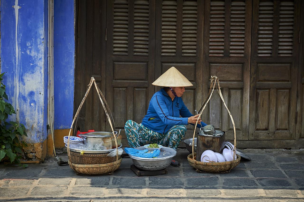 Street seller, Hoi An