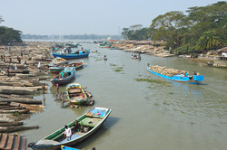 Timber yard, Barisal