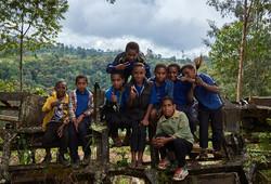Children in Payia village