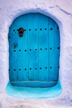 Tiny blue door, Chefchaouen
