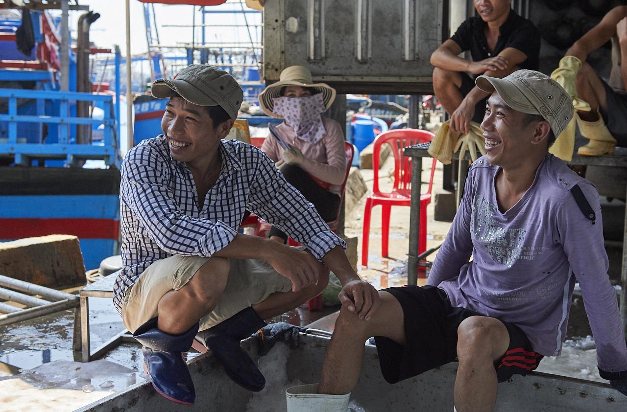 Fishermen, Nha Trang