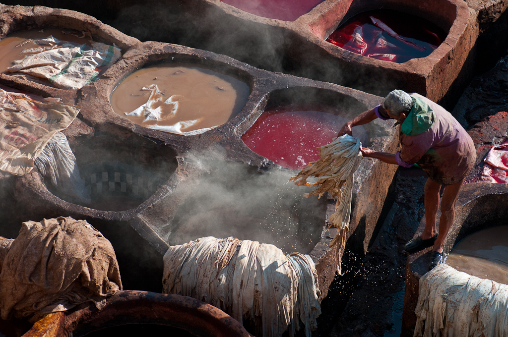Tanneries, Fez