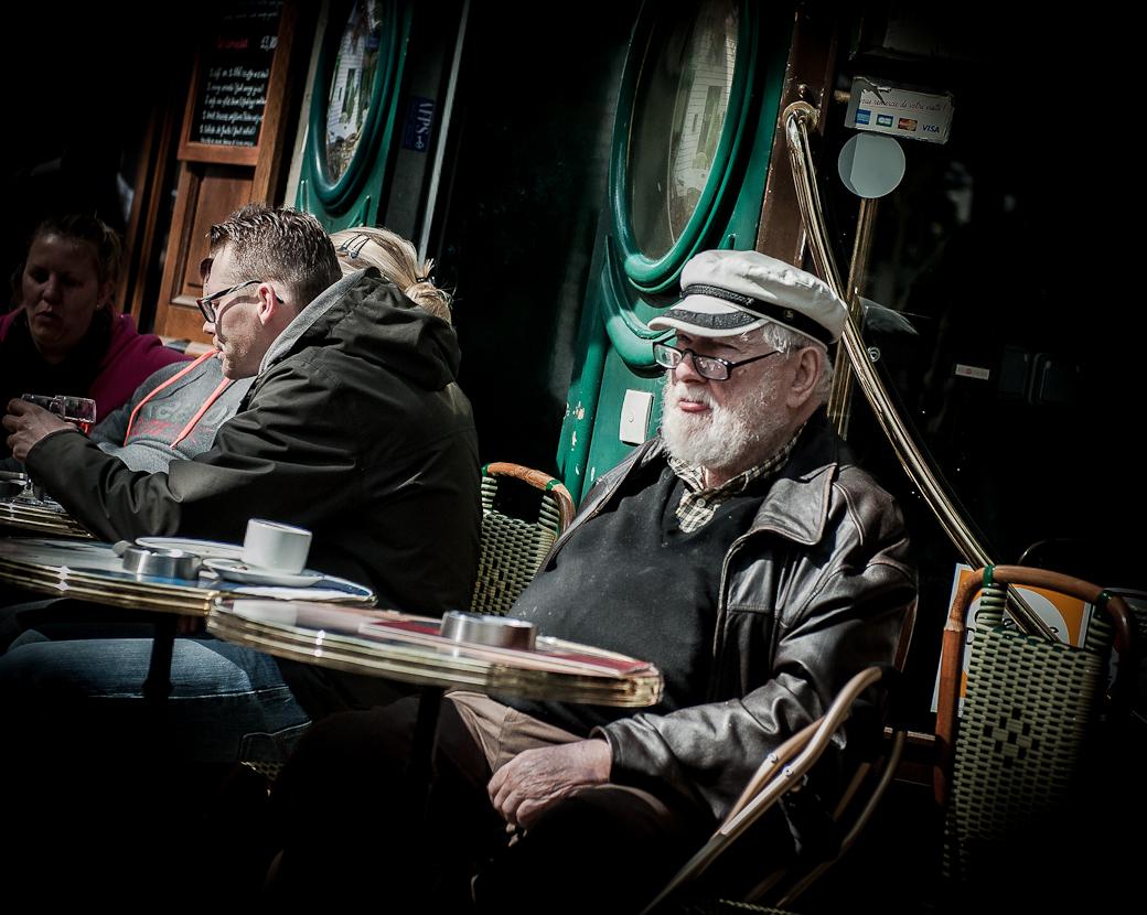 Old man, Montmartre