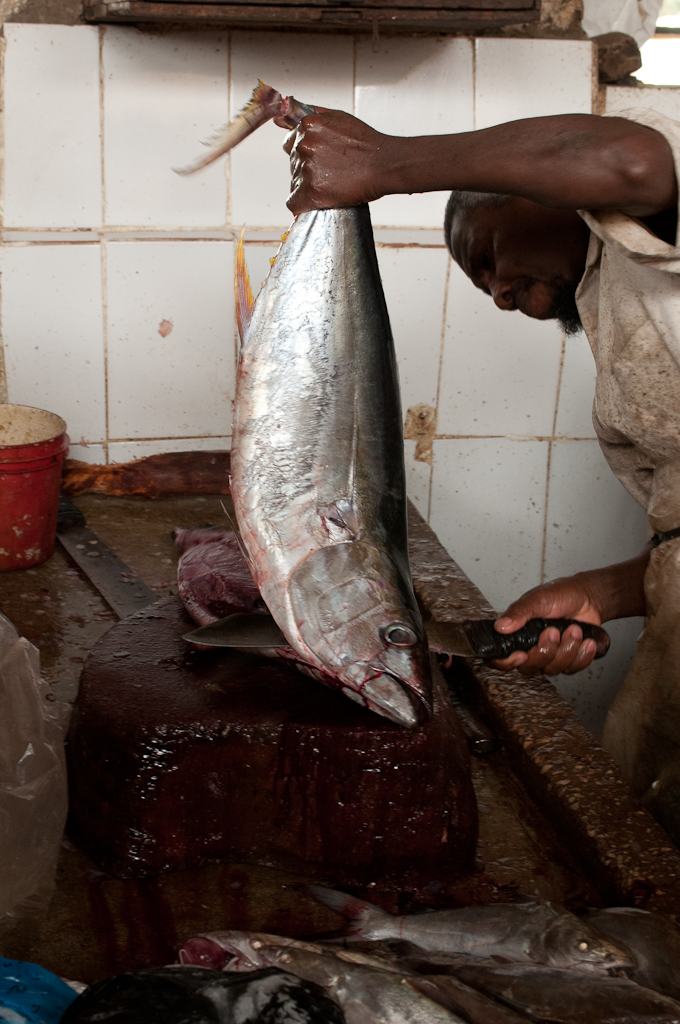 Fish market, Stonetown