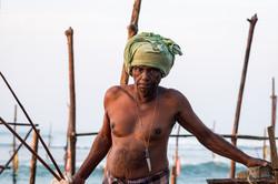 Fisherman, Ahangama beach