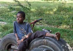 Boy, outskirts of Stonetown