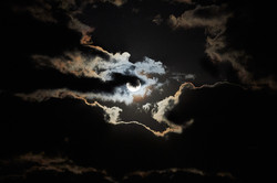 Full moon, Tarangire