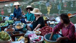 Floating market -Bangkok, Thailand