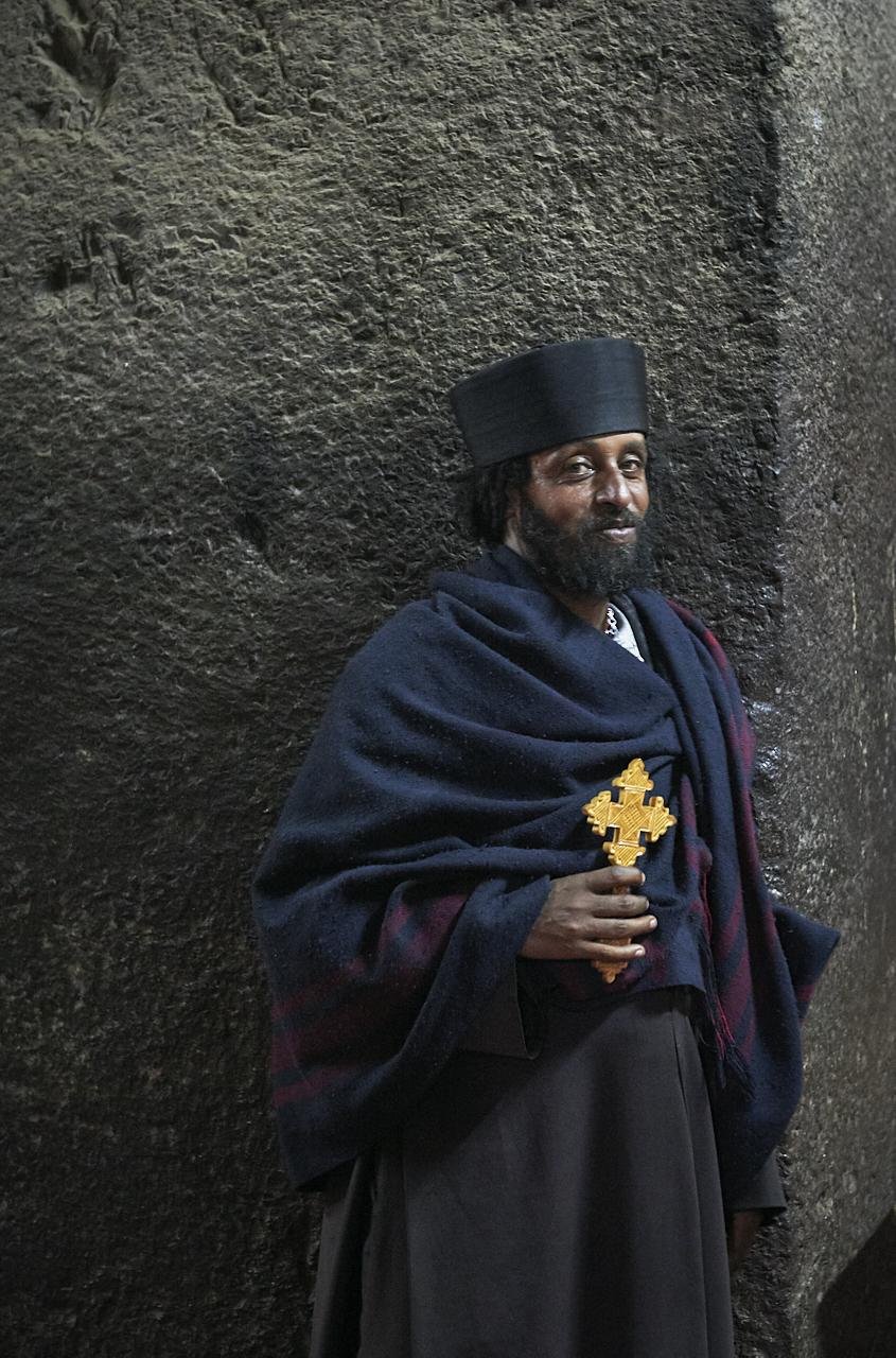 Christian monk, Lalibela