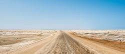 Road through Skeleton Coast