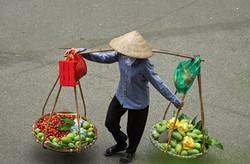 Street seller, Hanoi