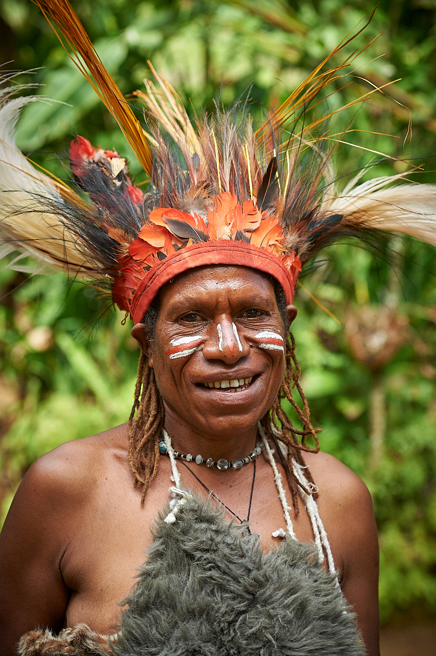 Chimbu woman