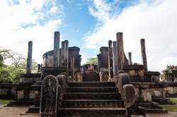 Polonnaruwa old city