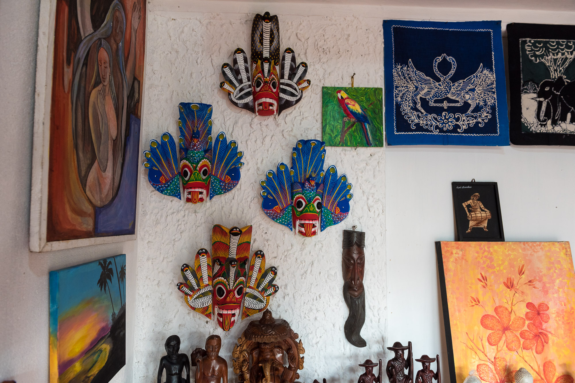 Sri Lankan masks