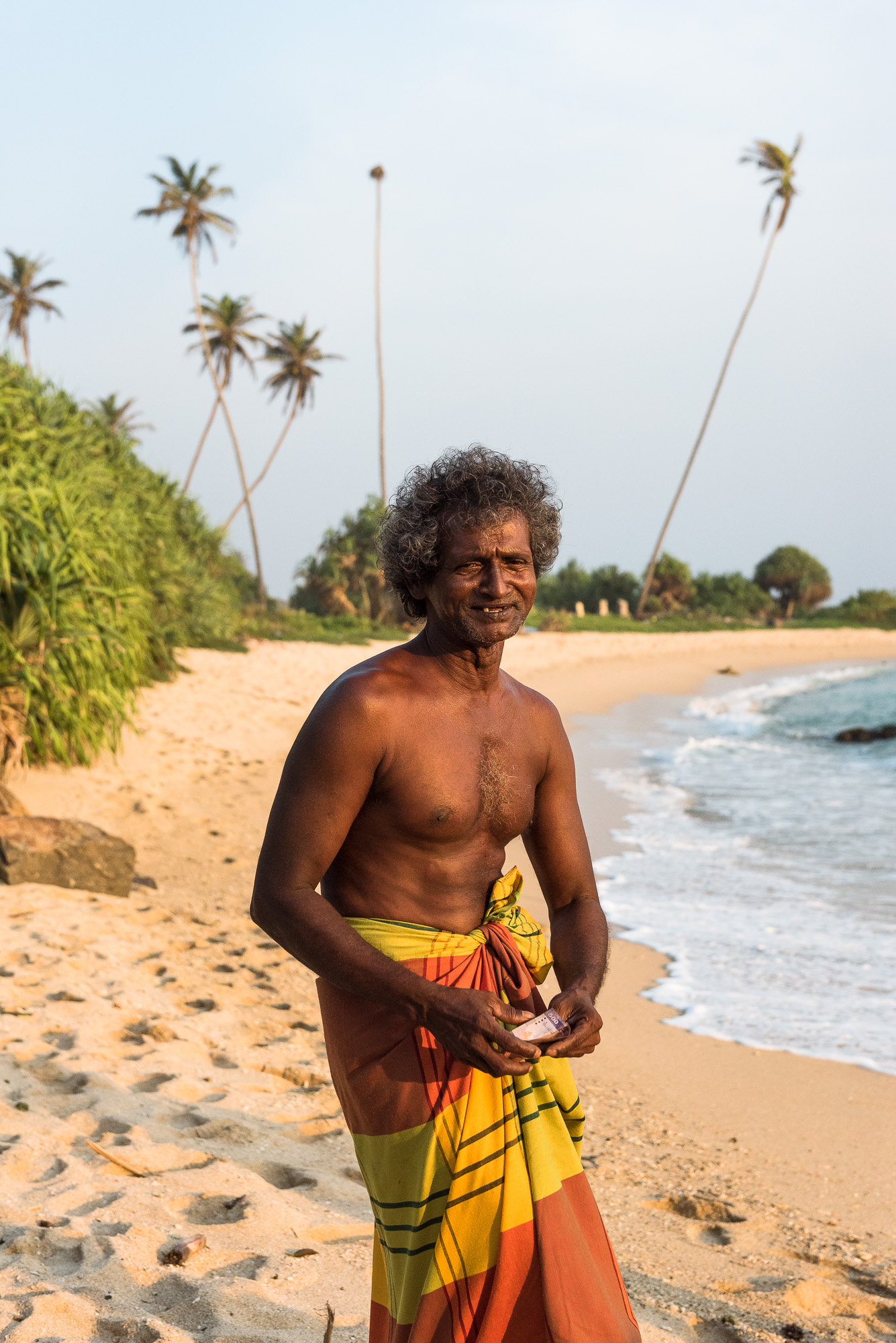 Fisherman, Koggala beach