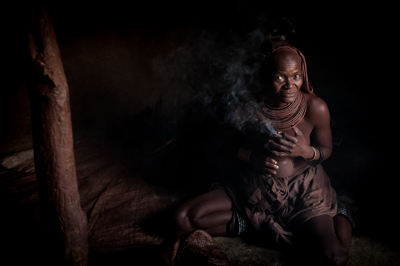 Himba queen - Namibia