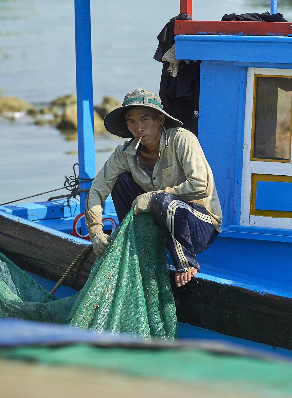 Fisherman, Nha Trang
