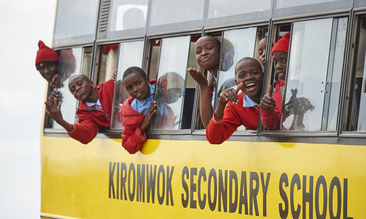 School teens, Masai Mara