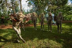 Asaro mudmen, Goroka