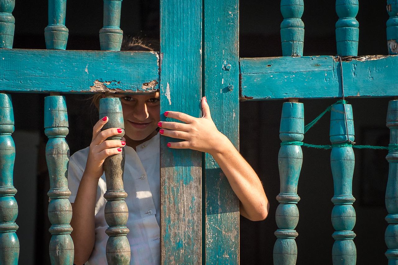 School girl, Trinidad, Cuba