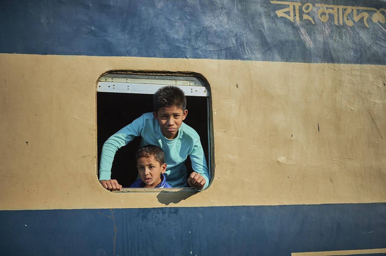 Dhaka train station