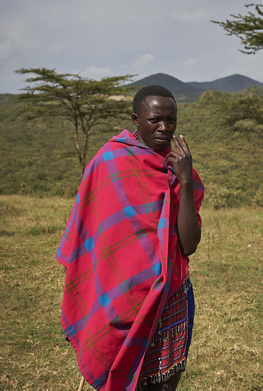 Masai man, Hell's gate