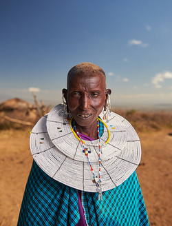 Maasai woman, Monduli Juu