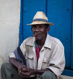 Man with cigar, Trinidad