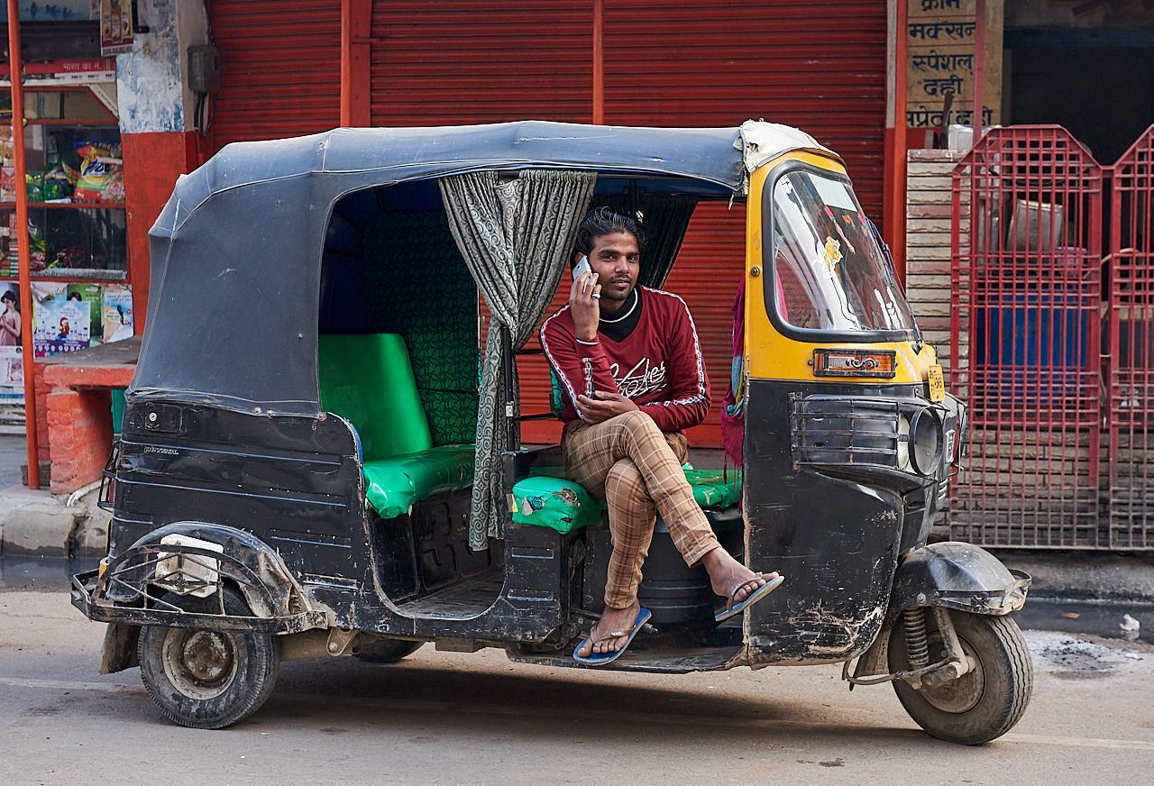 Tuktuk driver, Varanasi