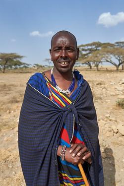 Masai man, Serengeti