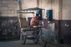 Local taxi, Havana